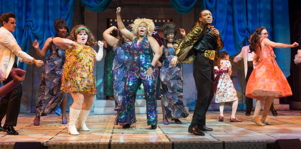 Hairspray Ensemble. Photo by Jenny Graham, Oregon Shakespeare Festival.