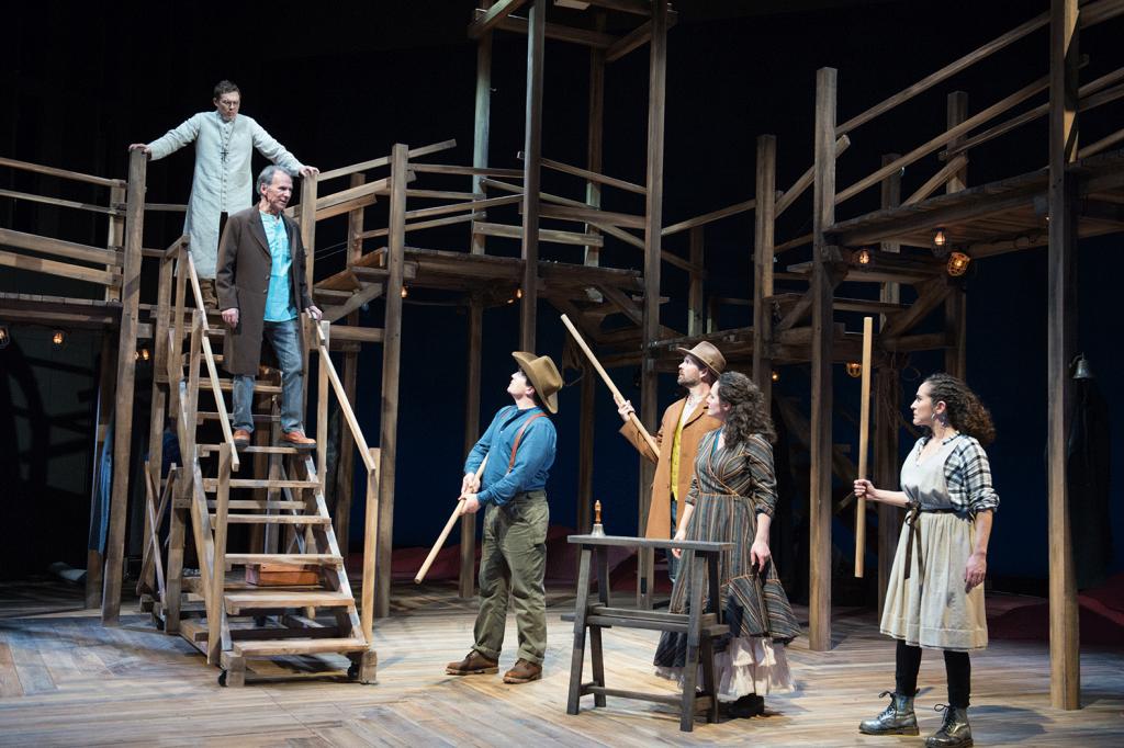 The Copper Children (2020): Ensemble. Photo by Jenny Graham, Oregon Shakespeare Festival.