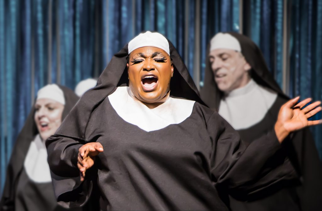 Branden Noel Thomas* as Deloris in SISTER ACT.
